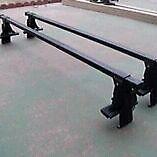 "Thule Car or SUV Roof Rack, 50"" bars, locks and key"
