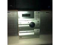 CD player boom box