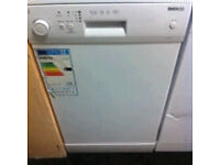 GRADED DISHWASHER BEKO SLIME LINE COMES WITH A FULLY WORKING STORE WARRANTY
