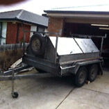 Tandem tradies trailer Chelsea Heights Kingston Area Preview