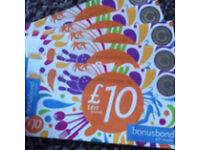 £50 worth of vouchers
