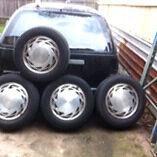Vp calais wheels for swap Bidwill Blacktown Area Preview