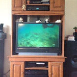 Meuble + TV HD