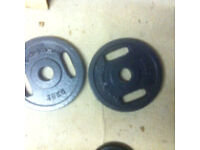 20kg 2x10kg OLYMPIC DUAL GRIP WEIGHTS