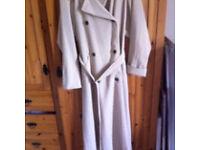 Size 14 wallis trench coat beige