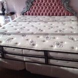 King Size Mattress Simmons BeautyRest Black Collection, like NEW