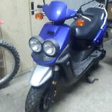 Scooter Bws Yamaha Bleu-1200$ negociable