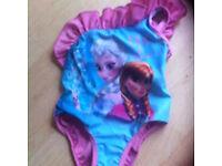 Girls frozen swimming costume 2-3 years new