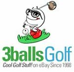 View the eBay store 3balls Golf