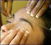 Eyebrow Threading in Fredericton.