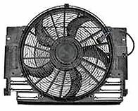 BMW X5 1999-2006 Auxiliary Fan Assembly (Radiator Fan) NEW