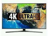 """SAMSUNG 55"""" 4K UHD SMART WI-FI HD FREEVIEW NEW TV IN BOX COMES WITH WARRANTY"""