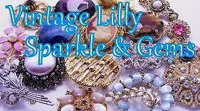Vintage Lilly Sparkle and Gems