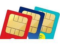 Vip SIM cards numbers