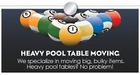Pool Table Moves, Service & installation