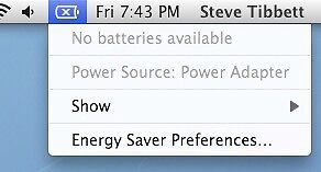 GET RID OF YOUR MAC WITH NO BATTERY!