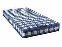 Brand New Comfy Single Mattress in Blue fabric FREE Delivery 2 Available