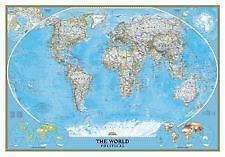 World map poster ebay vintage world map posters gumiabroncs Images