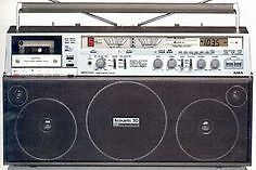 Wanted: 80s Boombox, Ghettoblasters
