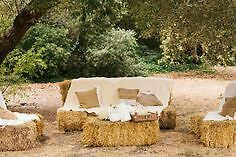 Square Hay Bales for Event