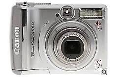 Canon PowerShot A560 camera