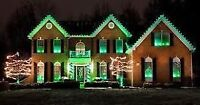 Residential and Commercial outdoor light installation