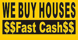 WE BUY HOUSES ~ QUICK CLOSE ~ NO COMMISSION