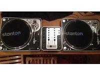 Stanton record decks for sale!!
