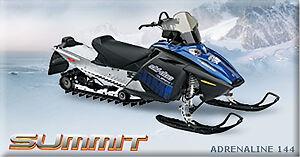 2007 SKI-DOO SUMMIT 800CC WITH VERY LOW MILEAGE