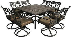 9 Piece Patio Dining Sets