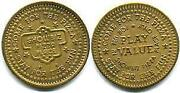 Chuck E Cheese Tokens