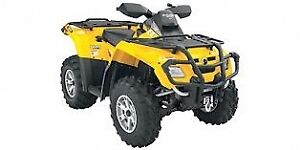 2007 Can Am Outlander 800 - parting out