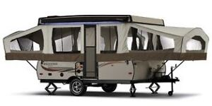 2017 Forest River Rockwood Freedom 2318G Tent Trai