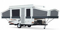 Travel Trailers & Tent Trailers for Rent