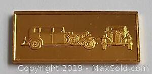 Gold Plate On Sterling Silver Bar