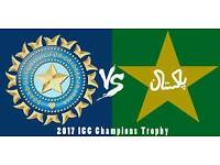 Champions trophy Pakistan v India 2017