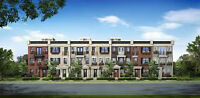 BEAUTIFUL BRAND NEW 4 BDRM CORNER TOWNHOUSE OVERLOOKING A POND