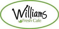 Williams Fresh Cafe seeking Full Time Manager Position