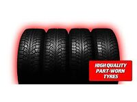PARTWORN TYRES ****MASSIVE SALE ALL SIZES FROM £15