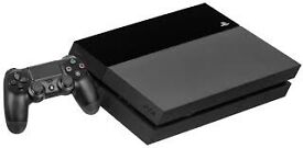 PLAYSTATION 4 CONSOLE 500GB BLACK