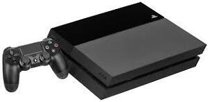 PS4 with one controller and multiple games!
