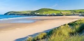 Luxury holiday home with sea views in Croyde, North Devon. Decking and 2017 site fees included!!
