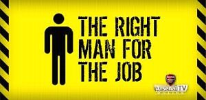 The right man for the job