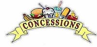 PT or FT Staff Wanted for Summer Concession