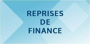 Liste reprise de finance**gratuite**sans obligation