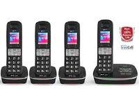 BT 8500 Advanced Call Blocker Quad Cordless phone - Brand new in box...