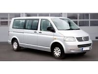 9 Seater Van with Driver for Hire