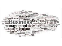 GCSE, AS and A LEVEL BUSINESS STUDIES, ECONOMICS and STATISTICS (EDEXCEL, OCR, AQA)