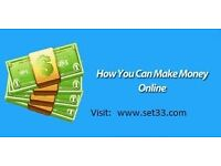 Work @@ Home, be your own boss. Paid Daily.