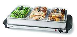 """""""""""BETTY CROCKER"""" 3 TRAY WARMING SERVER FOR THE HOLIDAYS ONLY $35"""